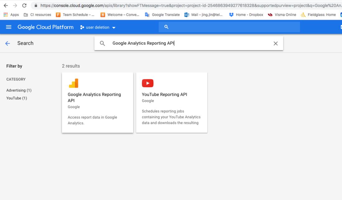 Youtube Api Python Example
